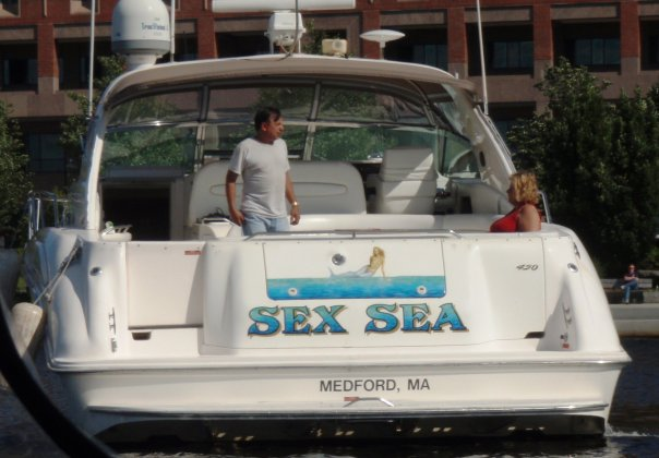 The Stupidest Boat Name Ever