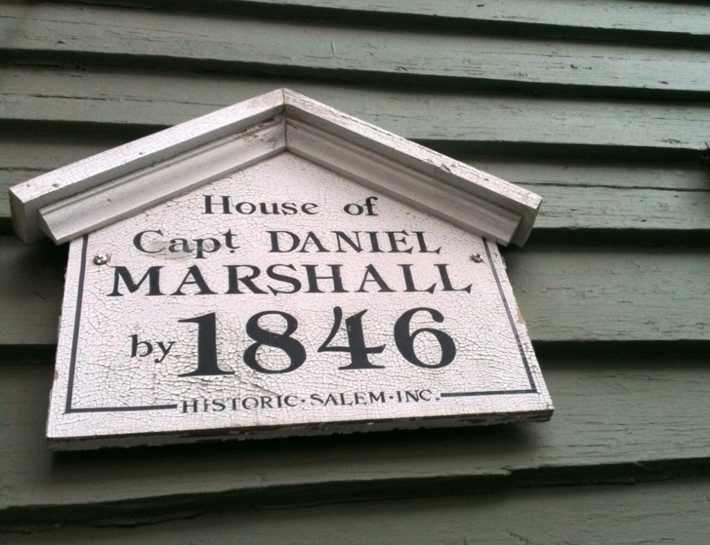 Home of Capt Daniel Marshall