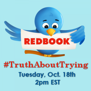 TruthAboutTrying Twitter Chat on October 18, 2011
