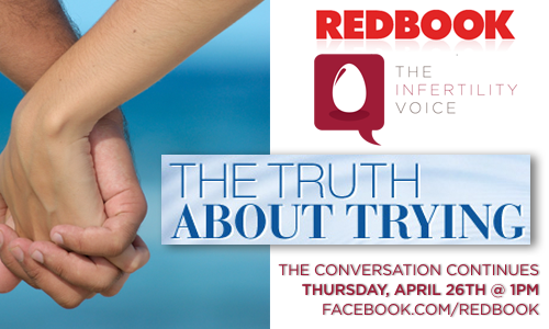 The Infertility Voice Takes Over REDBOOK for The Truth About Trying on Facebook!