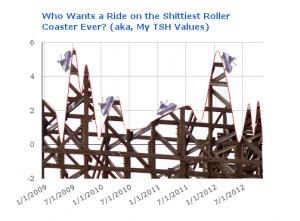 Hashimoto's Thyroiditis: worst amusement park ride ever.