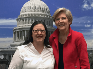 I Met Senator Elizabeth Warren! (My Advocacy Day 2014)