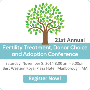 RESOLVE New England Infertility and Adoption Annual Conference 2014
