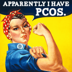 Rosie the PCOS Poster Girl
